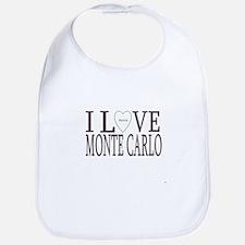 I Love Monte Carlo Bib