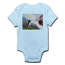 Creation of a Boston Ter Infant Bodysuit