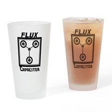 Flux Capacitor Back to the Future Drinking Glass