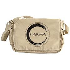 Karma, What goes around comes around Messenger Bag