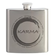 Karma, What goes around comes around Flask
