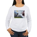 Creation of a Boston Ter Women's Long Sleeve T-Shi