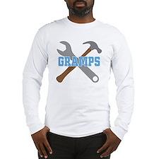 Gramps tool design Long Sleeve T-Shirt
