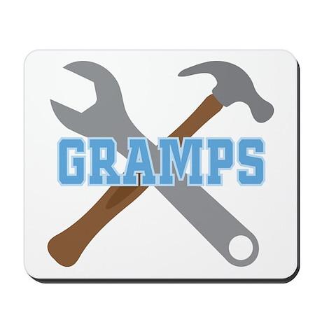 Gramps tool design Mousepad