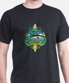 Personalized Bluefish Trophy T-Shirt