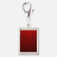 Red Diamond Plate Charms
