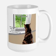Indoor cat Mugs