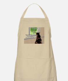 Indoor cat Apron