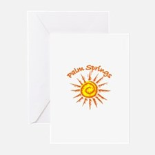 Palm Springs, California Greeting Cards (Package o