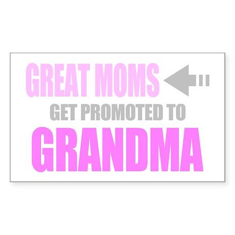 Promoted to Grandma Sticker