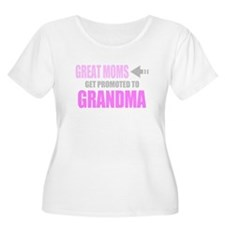 Promoted to Grandma Plus Size T-Shirt