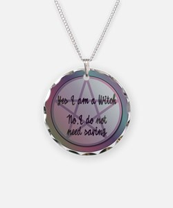 Yes I am a Witch. No I do not need saving. Necklac