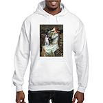 Ophelia & Boston Terrier Hooded Sweatshirt