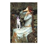Ophelia & Boston Terrier Postcards (Package of 8)
