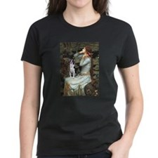 Ophelia & Boston Terrier Tee