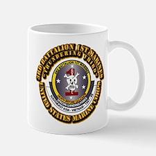 SSI - 3rd Bn - 1st Marines USMC With Text Mug