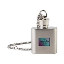 Yes I am a Witch. Deal with it! Flask Necklace