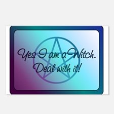 Yes I am a Witch. Deal with it! Postcards (Package