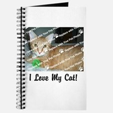 CUSTOMIZE Add Photo Love Cat Journal