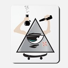 All Seeing Skter Mousepad