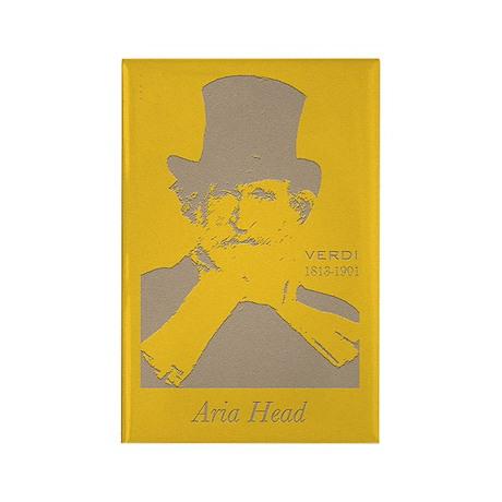 Aria Head, Verdi Rectangle Magnet