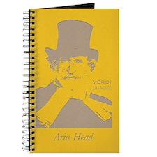 Aria Head, Verdi  Journal