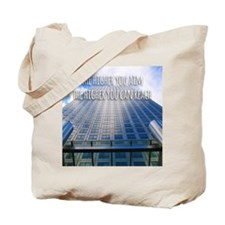 Aim High Reach High Tote Bag