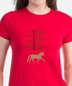 dressage speak Tee