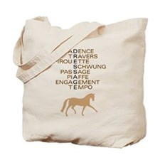 dressage speak Tote Bag