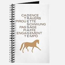 dressage speak Journal