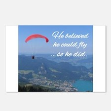 He believed he could fly so he did Postcards (Pack