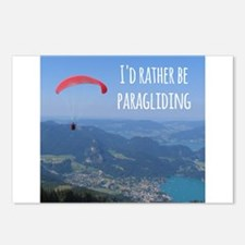 Id Rather Be Paragliding Postcards (Package of 8)