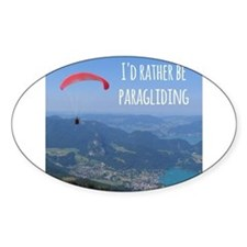 Id Rather Be Paragliding Decal