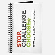 Stop. Challenge. Choose. Journal