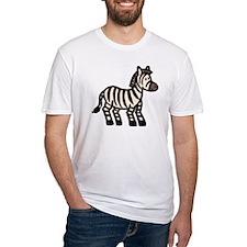Cartoon Zebra Shirt