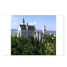Neuschwanstein Castle Postcards (Package of 8)