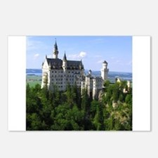 Neuschwanstein Castle Postcards (Package of 8)