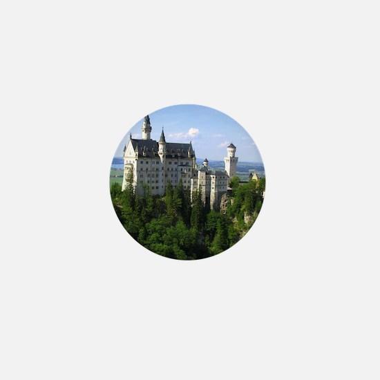 Neuschwanstein Castle Mini Button