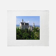 Neuschwanstein Castle Throw Blanket