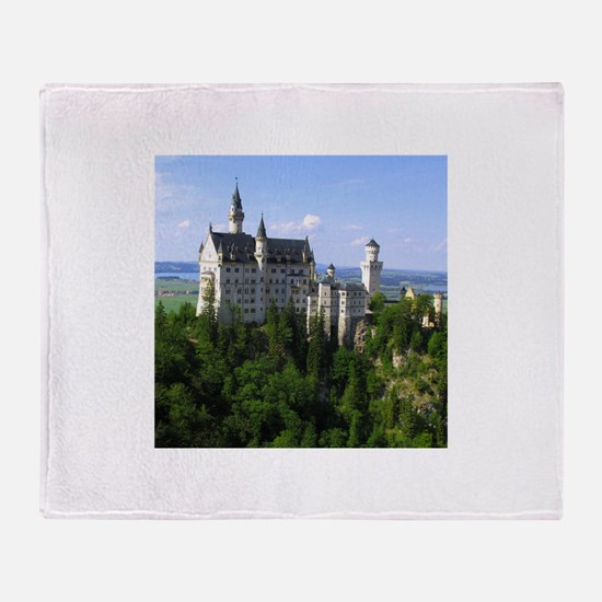 Neuschwanstein Castle Throw Blanket