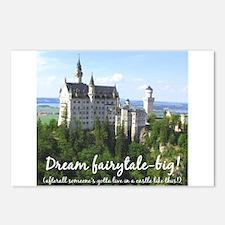 Dream Fairytale Big Postcards (Package of 8)