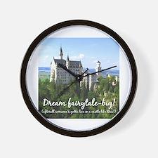Dream Fairytale Big Wall Clock