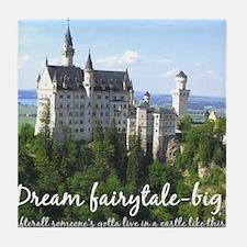 Dream Fairytale Big Tile Coaster