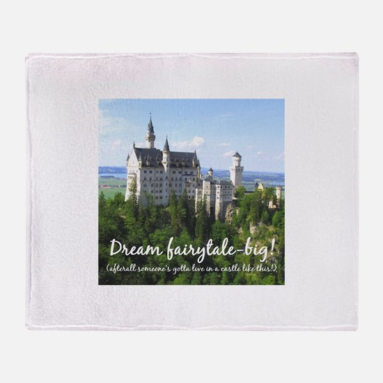 Dream Fairytale Big Throw Blanket