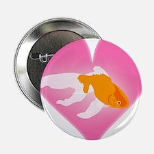 "Goldfish Love 2.25"" Button"