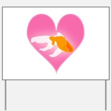 Goldfish Love Yard Sign