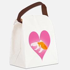 Goldfish Love Canvas Lunch Bag