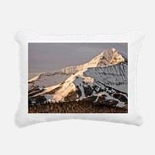 The Lonely Mountain Rectangular Canvas Pillow