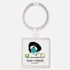 Have-i-Needs Havanese Square Keychain