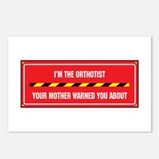 I'm the Orthotist Postcards (Package of 8)